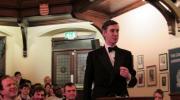 Jacob Rees-Mogg debating at the Cambridge Union