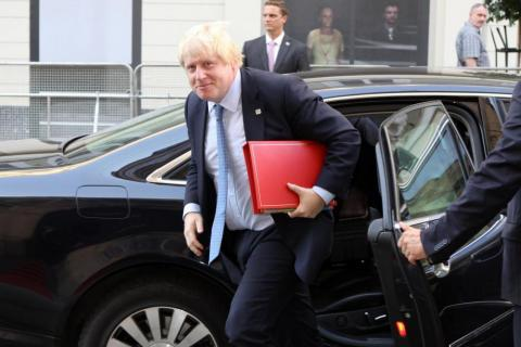 New Prime Minister Boris Johnson