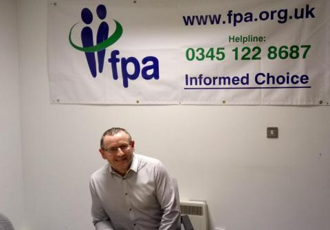 Mark Breslin, Director of the FPA in Northern Ireland