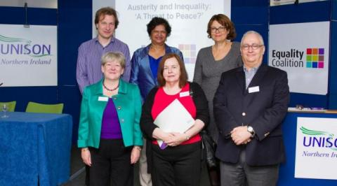 Panel members at the October conference which led to the report