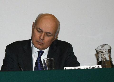 Iain Duncan Smith in March 2010 in his role as Chairman of the Centre for Social Justice