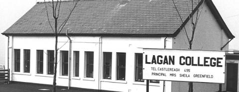 Lagan College opened in 1981 with 28 pupils and no government funding (image courtesy lagancollege.com)