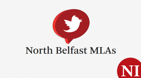North Belfast MLAs on Twitter