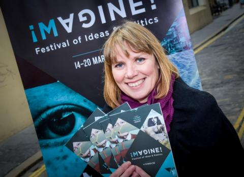Actress Nuala McKeever supports the festival