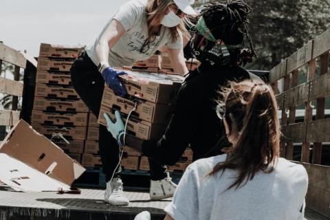 Charities do lots of heavy lifting (photo by Joel Muniz on Unsplash)