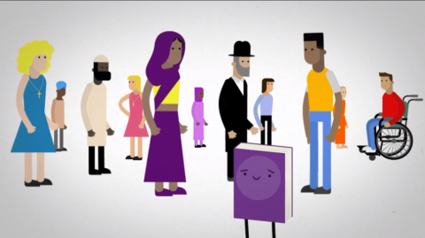 A still from the new NIHRC/EANI animation