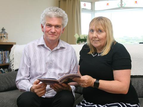 Stroke survivor Rosemary Brown and her partner Martin
