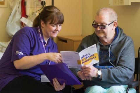The Stroke Association works with stroke survivors to create better services
