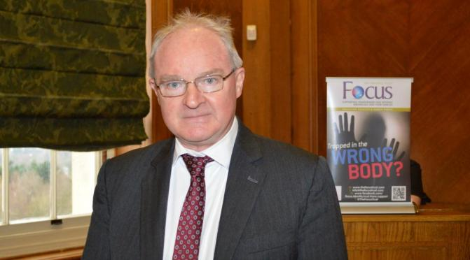 Lord Chief Justice Sir Declan Morgan at this week's event