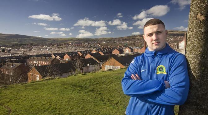 Conor Largey benefitted from Big Lottery support