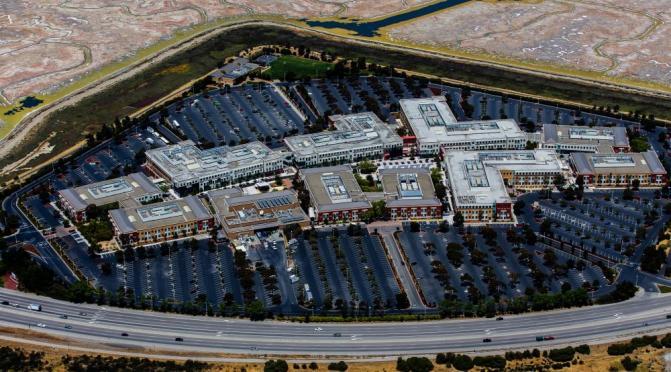 Facebook's giant campus in California