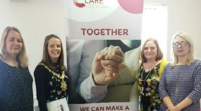 The Lord Mayor of Belfast visited CLARE last month