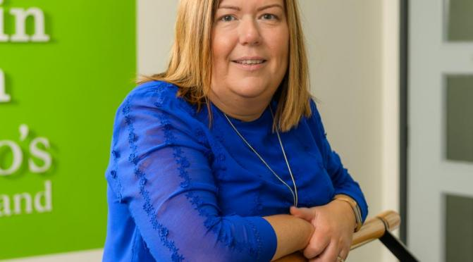 Michele Janes, Head of Barnardo's NI