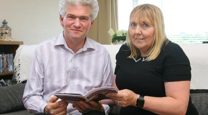 Stroke survivor Rosemary Brown and her partner Martin