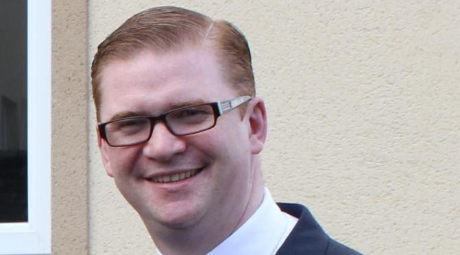 Simon Hamilton is the new Stormont Health Minister